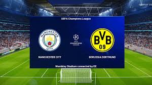 PES 2021 - Manchester City vs Borussia Dortmund - UEFA Champions League UCL  - Gameplay - YouTube