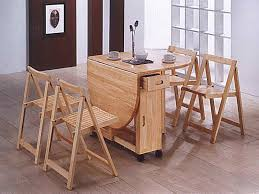 rustic wooden folding dining furniture sets for outdoor area