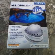 Intex Led High Intensity Magnetic Above Ground Pool Light