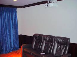 sound barrier curtain retractable curtains acoustic for home