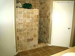 half wall shower glass charming bathtub doors panels ireland