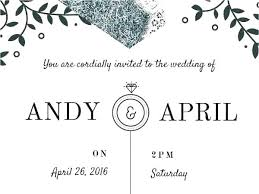 Beautiful Online Email Wedding Invitations For Marriage Invitations