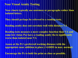 The Low Vision Examination