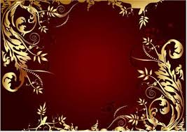 elegant gold colored decorative frame