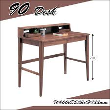 90 wide work desk with leader study desk shelves drawers simple dress up wooden learning desk