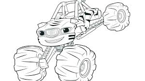Monster Truck Coloring Pages Pdf Race Blaze Display Mater Cars Page