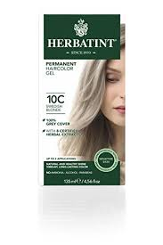 Herbatint Chart Herbatint Hair Color 10c Swedish Blonde 4 Fluid Ounce