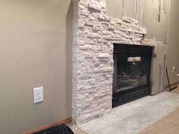 popular stone cladding fireplace top design ideas for you facing pallet surround stacked stone fireplace