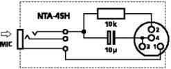 adaptors mini xlr nta 4sh wiring diagram
