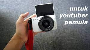 Canon EOS m10 Kamera Vlog untuk Youtuber Pemula - YouTube