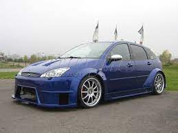 Ford Focus S Style Wide Body Kit Ford Focus Ford Focus S Body Kit