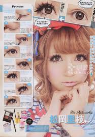 gyaru makeup tutorial spam part 2 20 pic
