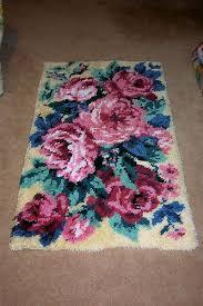 latch hook rug patterns free unique latch hook rose design rug carpet rugs wood