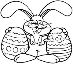 easter bunny coloring page for kids sheets on coloring book and pages easter bunnies in love