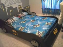 Batmobile Car Bed And Bedroom Set