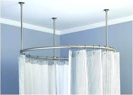 mesmerizing oval shower curtain rods shower curtains tubs image of shower curtain ring tub oval shower curtain rods tub circular shower curtain rod canada