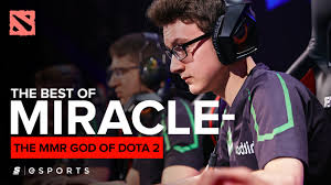 the best of miracle the mmr god of dota 2 thescore esports