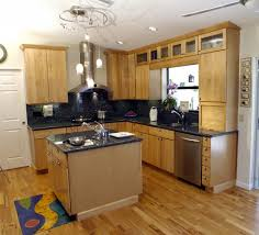 Kitchen:Small Kitchen Design Layout Idea With Cute And Nice L Shaped  Kitchens With Island