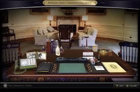 jfk in oval office. John F. Kennedy Presidential Library: \u0027The President\u0027s Desk\u0027 Interactive Exhibit - Daniel Loewus-Deitch Jfk In Oval Office A