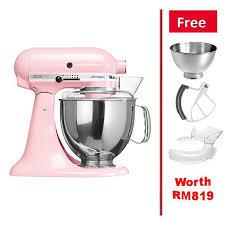 kitchenaid k5ksm175psbsp stand mixer artisan 4 8 l silk pink