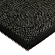 sisal rugs black black border tap to expand