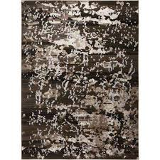 vogue gray black 5 ft x 7 ft indoor area rug