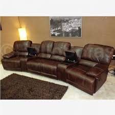 Lovable Leather Reclining Sofa 3 Piece Recliner Sofa Brilliant
