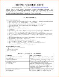 Data Analyst Resume Corol Lyfeline Co Insurance Business Sample 695
