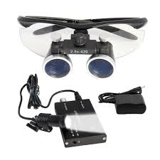 Cheap Dental Loupes With Light Details About Dental Surgical Binocular Loupe Glasses Len Magnifier 2 5x Dentist 5w Headlight