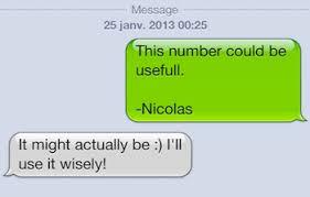 elle n'envoie jamais le premier sms