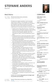 Executive Assistant Resume Samples   VisualCV Resume Samples Database VisualCV resume on pinterest  top professionals resume templates amp       Cv It Professional