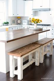 Rustic kitchen table with bench Bench Seating Diy Kitchen Benches Simplykierstecom About House Design Diy Kitchen Benches Budget Kitchen Ideas Farmhouse Style Home