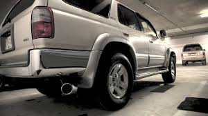 1997 Toyota 4Runner Exhaust (Wide Angle - YouTube