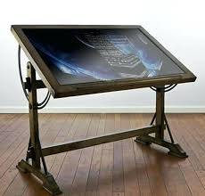 ikea light box drafting table drawing table with ikea light box table top