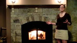 new construction woodburning fireplace