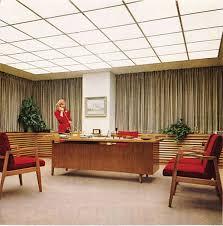 mid century modern office. vintage ad corning glass great midcentury modern office decor ca 1960 mad men mid century h