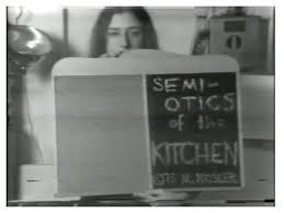 Martha Rosler | Semiotics Of The Kitchen