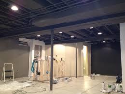 Painted Basement Ceiling Ideas Basement Ceiling Ideas Best - Painted basement ceiling ideas