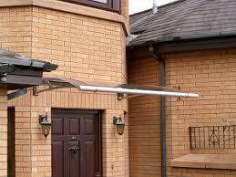 front door canopySwish range of ultrastylish door canopies  The Border Canopy Company