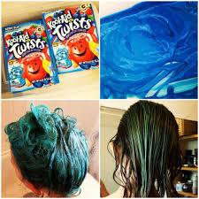 Kool Aid Hair Dye Chart For Dark Hair Dyeing Hair With Kool Aid Mermaid Hair A Stash Addict