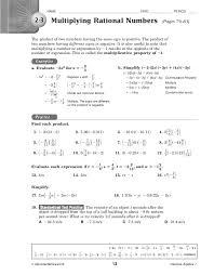 pre algebra with zz worksheet answers key