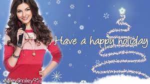 Victoria Justice - Rockin' Around The Christmas Tree (with lyrics) - YouTube
