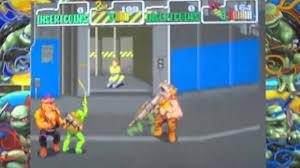 Ninja Turtles Arcade Cabinet Teenage Mutant Ninja Turtles Arcade Game 1989 Full Arcade Co Op