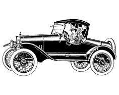 Free Vintage Clip Art Images Vintage Cars And Coaches Clip Art