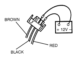 repair guides distributor ignition system diagnosis and 3 Wire Distributor Diagram attaching 12 volt battery and ground to the distributor base 3 wire connector ford 3 wire distributor wiring diagram