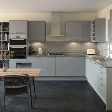 white shaker kitchen cabinets grey floor. Full Size Of Uncategorized:grey Kitchens In Trendy Kitchen Endearing White Shaker Cabinets Grey Floor T