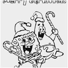 Baby Spongebob Coloring Pages Fabulous Spongebob Christmas Coloring