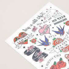 переводные татуировки в стиле олд скул Cropp