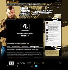Web Design Gta Web Design For Social Club Multiplayer Events Fenming Design