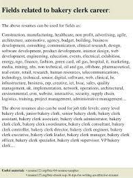 Sample Resume For Baker Baker Assistant Cover Letter Resume For